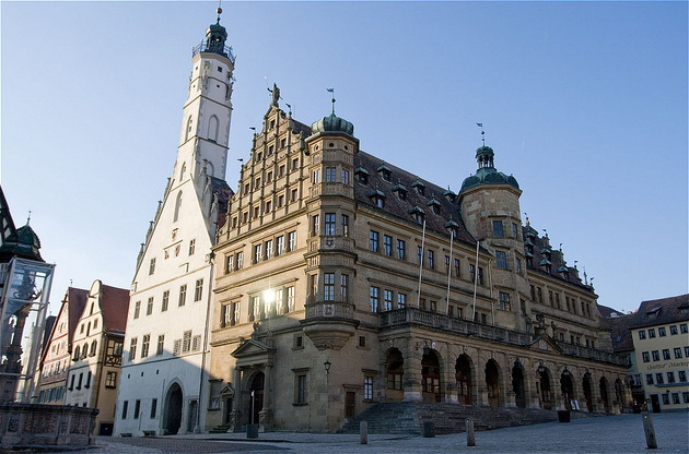 City Hall and Rathaus Tower