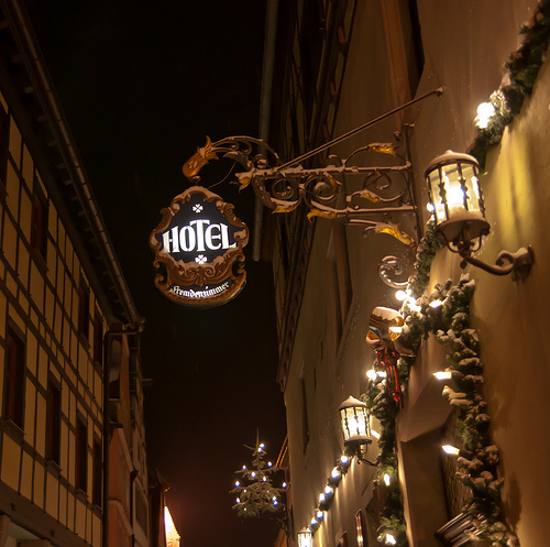 Hotel in rothenburg